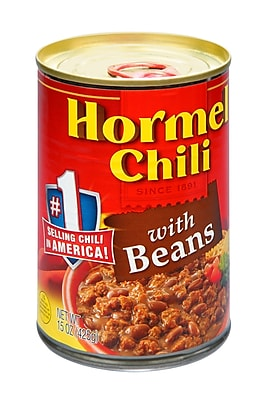 Hormel Spices 12/Pack 15 Oz Chili with Beans