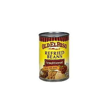 Old El Paso Refried Beans Traditional 1 lbs., 16/Pack