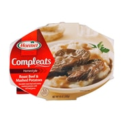 Hormel Compleats Roast Beef 0.62 lbs. Gravy with Mashed Potatoes, 8/Pack