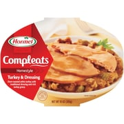 Hormel Turkey With Gravy Microwave Bowls 0.62 lbs. Turkey & Dressing, 8/Pack