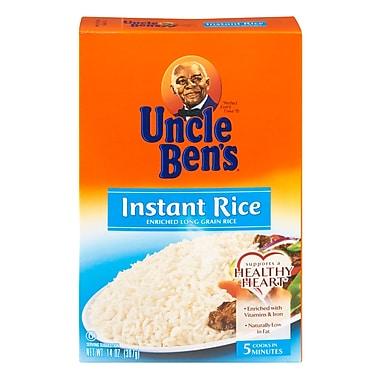 Uncle Ben s 5 Minute Enriched Long Grain Instant Rice 14 Oz., 8/Pack