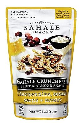 Sahale Snacks Cranberries Sesame Seeds Honey Crunchers 8/Pack 1057886
