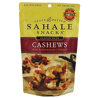 Sahale Snacks Glazed Nuts Cashews 4 Oz, 8/Pack