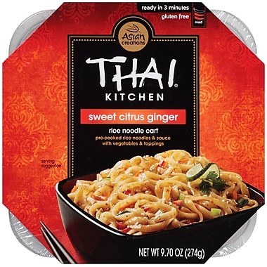 Thai Kitchen Rice Noodle Cart 9.7 Oz. 6/Pack