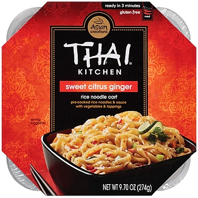 Thai Kitchen Rice Noodle Cart 9.7 Oz. 6/Pack