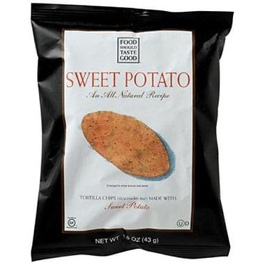 Food Should Taste Good Sweet Potato Tortilla Chips 24/Pack 1.5 Oz.