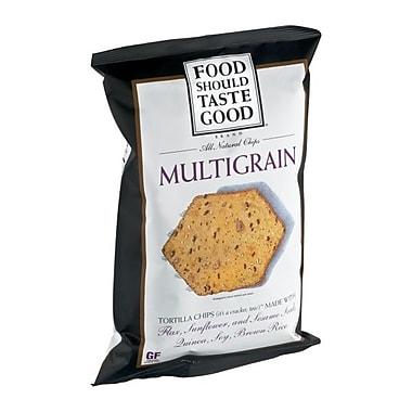 Food Should Taste Good Multigrain Tortilla Chips 5.5 Oz., 8/Pack