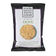 Food Should Taste Good Tortilla Chips Olive, 5.5 Oz 8/Pack