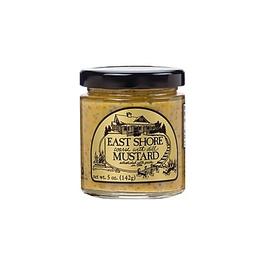 East Shore Coarse Dill Mustard 5 Oz., 12/Pack