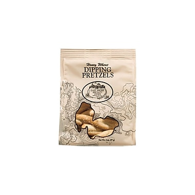 East Shore Twisted Honey Wheat Dipping Pretzel 2 Oz., 36/Pack