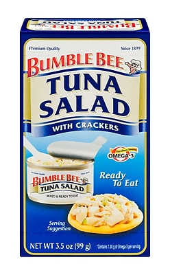 Bumble Bee 0.21 lbs. Tuna Salad with Crackers, 16/Pack
