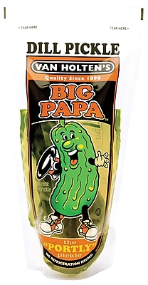 Van Holten s Pickle, Dill, Big Pappa, 24/Pack