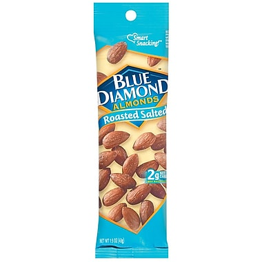 Blue Diamond Almonds Roasted Salted 1.5 Oz., 48/Pack