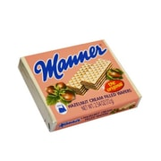 Manner Vienna Hazelnut Cream Filled Wafers 2.54 Oz., 24/Pack