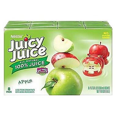 Juicy Juice Apple Slim Boxes, 64/Pack