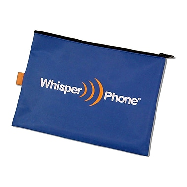 Harebrain Whisperphone® Deluxe Nylon Storage Pouch For Solo and Element Single, 6/Set (HB-DSP1)