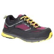 Moxie Trades – Bottes de randonnée Frankie CSA/ESR imperméables, sans métal, pour femmes, noir/violet