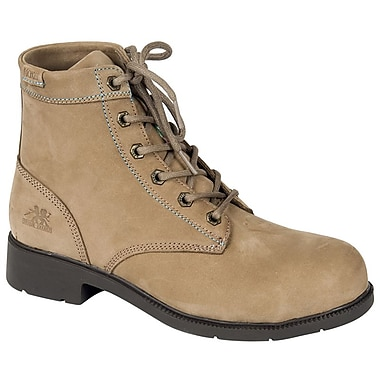 Moxie Trades Dani Ladies CSA/ESR Lightweight Duty Work Boots, Size 7.5, Taupe