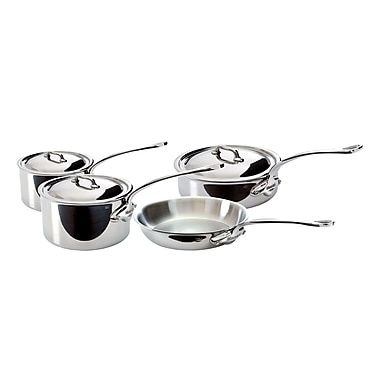 Mauviel® M'Cook 7-Piece Stainless Steel Starter Set