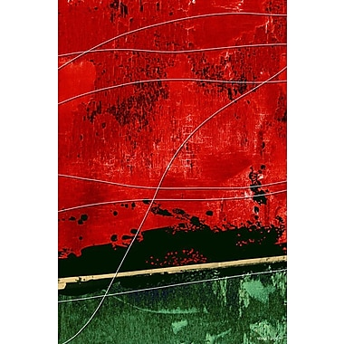 Maxwell Dickson By a Thread Painting Print on Wrapped Canvas; 24'' H x 18'' W