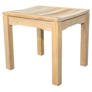 Regal Teak Teak Rosemont Backless Garden Bench; 24''