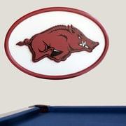 Fan Creations NCAA Logo Textual Art Plaque; Arkansas