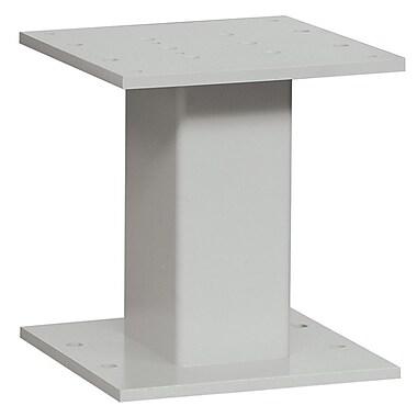 Salsbury Industries 1 Ft. H 4C Pedestal; Gray