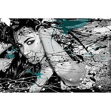 Maxwell Dickson ''In the Wind'' Graphic Art on Canvas; 40'' H x 60'' W