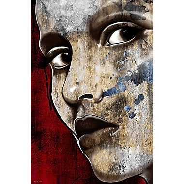 Maxwell Dickson I'm Watching You Painting Print on Wrapped Canvas; 36'' H x 24'' W