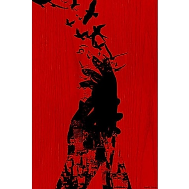 Maxwell Dickson Free as a Bird Graphic Art on Wrapped Canvas; 24'' H x 18'' W