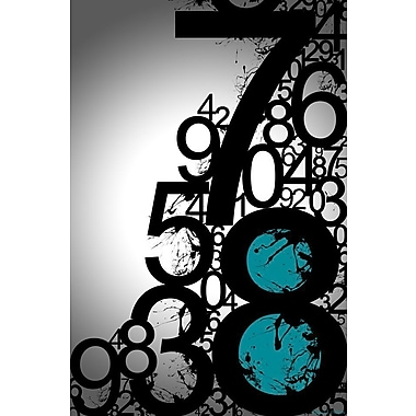 Maxwell Dickson Countdown Graphic Art on Wrapped Canvas; 36'' H x 24'' W