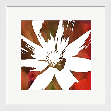 Evive Designs Peace Flowers I by James Burghardt Framed Painting Print