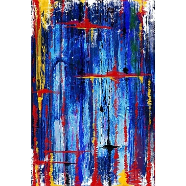 Maxwell Dickson Melodies Painting Print on Wrapped Canvas; 30'' H x 20'' W