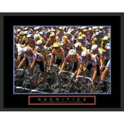 Frames By Mail Motivational Sacrifice Framed Photographic Print