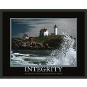 Frames By Mail Motivational Integrity Framed Photographic Print