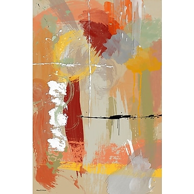 Maxwell Dickson ''Autumn'' Painting Print on Canvas; 18'' H x 24'' W