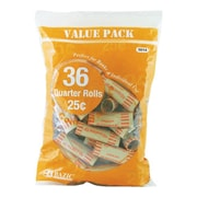 Bazic 36 Ct. Coin Wrappers (Set of 50); Quarter