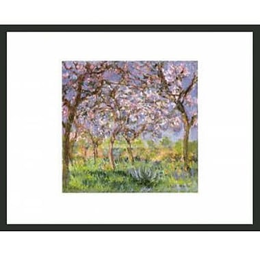 Frames By Mail Monetemps Framed Painting Print