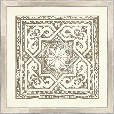 Melissa Van Hise Tiles II Framed Graphic Art