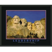 Frames By Mail Mount Rushmore Motivational Leadership Framed Photographic Print