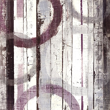 Evive Designs Plum Zephyr I by Mike Schick Graphic Art