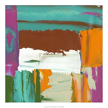 Evive Designs Neon City IV by Jennifer Goldberger Painting Print