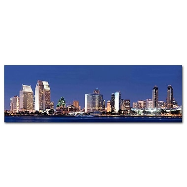 Great Big Photos San Diego City Photographic Print on Canvas
