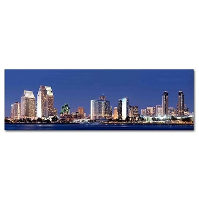 Colossal Images San Diego City Photographic Print on Canvas
