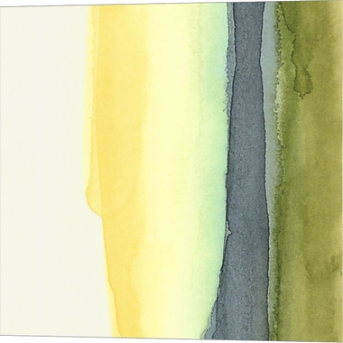 Evive Designs Liquidity III by Chariklia Zarris Painting Print on Wrapped Canvas