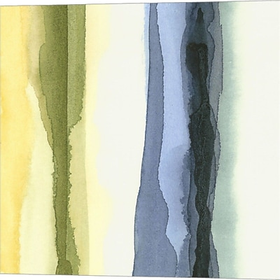 Evive Designs Liquidity IV by Chariklia Zarris Painting Print on Wrapped Canvas