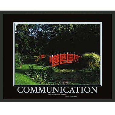Frames By Mail Motivational Communication Framed Photographic Print
