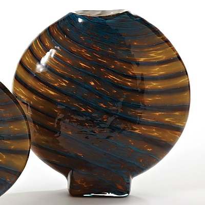 Global Views Swirl Vase; Large