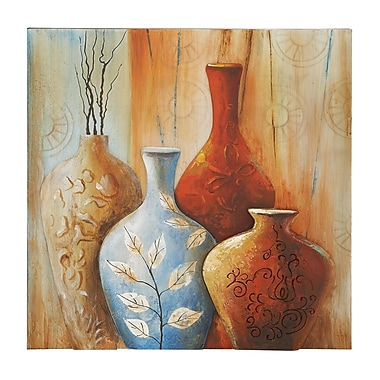 Woodland Imports Attractive Painting Print on Canvas