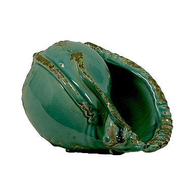 Woodland Imports Beautiful Antiquated Ceramic Vase